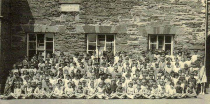 The Entire Pilton Church School in 1965-1966