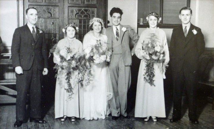 The Wedding Reception of Harold and Doris Bartlett 1936