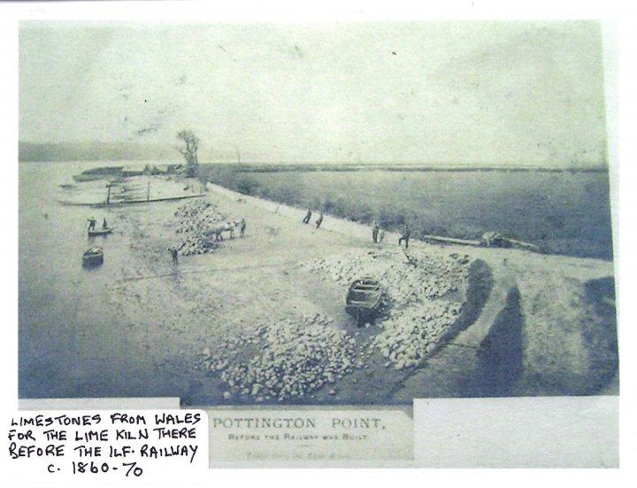 Pottington Point c1860-70 before the Ilfracombe Railway was built