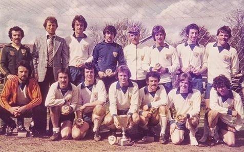 Pilton Centre Football Club in the 1970s