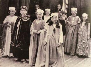 Pilton School Millinery Procession 1930